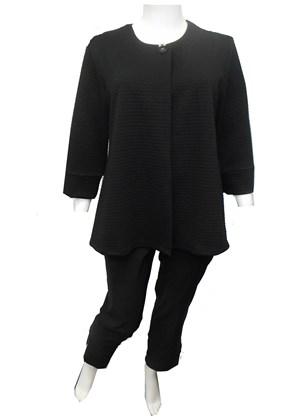 COMING SOON - BLACK - Vicky plain jacket