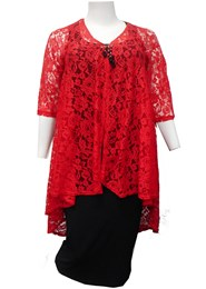 RED - Ruth lace jacket