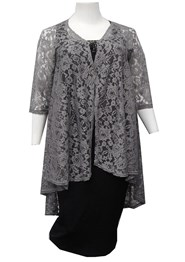 SILVER - Ruth lace jacket