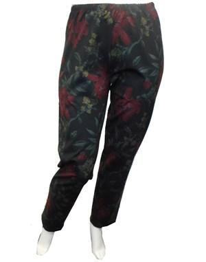 Leah printed ponti pants
