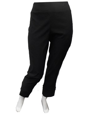 Betty pant with split hem