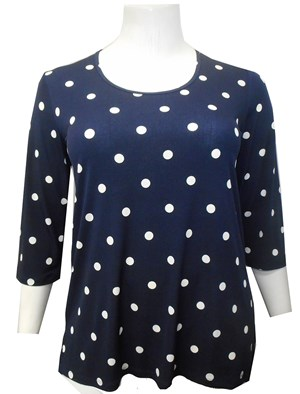 LIMITED NAVY - Gwen spot top