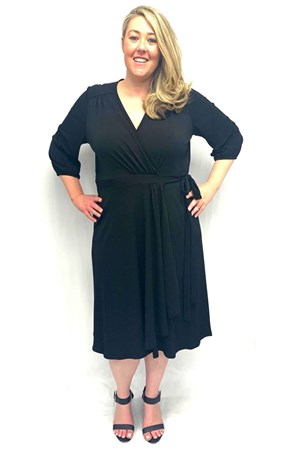 LIMITED Deb Soft Knit Dress - Black
