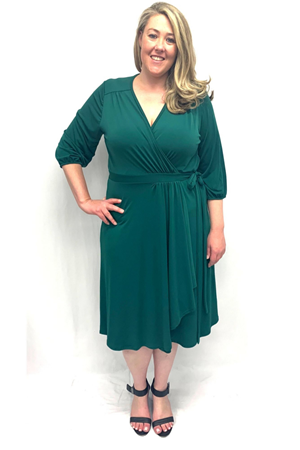 LIMITED Deb Soft Knit Dress - Pine