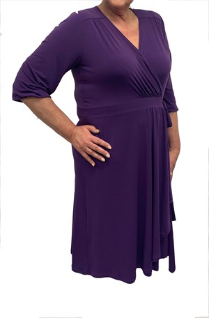 LIMITED Deb Soft Knit Dress - Lavendar