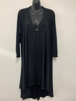 Kim Light Weight Woolly Knit Jacket BLACK