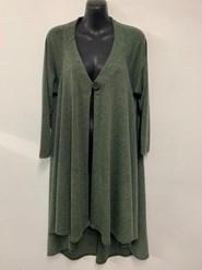 Kim Light Weight Woolly Knit Jacket KHAKI