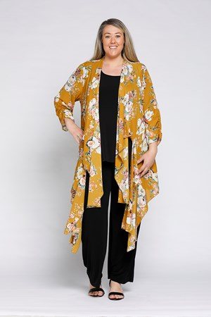 LIMITED Printed Chiffon Jacket