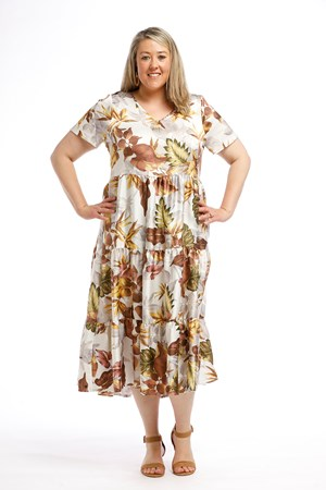 Woven CDC Dress FLORAL