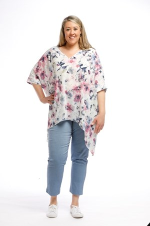 Printed Crepe Top FLORAL