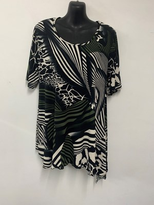 Soft Knit Printed Top