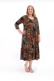 Abby Weekend Printed Soft Knit Dress