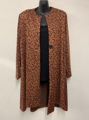 Leopard Ponte Jacket RUST