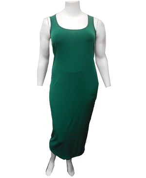 Roxanne Sleeveless Soft Knit Maxi Dress - Pine