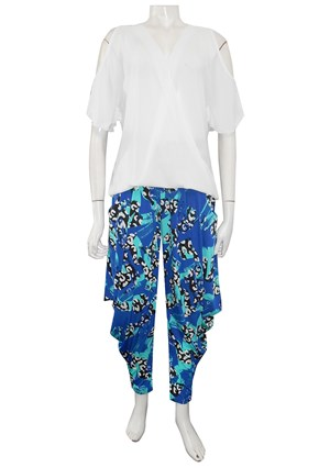 LIMITED STOCK - PRINT 257 - Rhianna printed harem pants