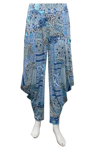 LIMITED STOCK - PRINT 362 - Rhianna printed harem pants