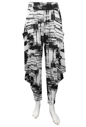 LIMITED STOCK - PRINT 546 - Rhianna printed harem pants
