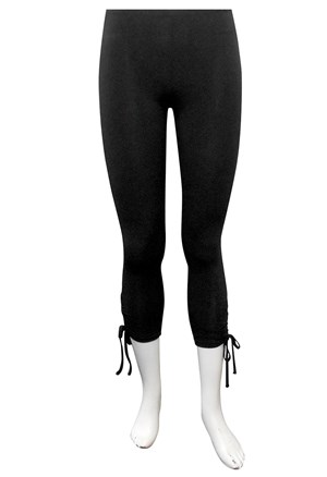 Mary soft knit tights with side ties