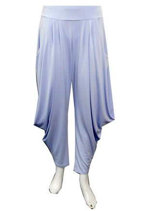 SOLD OUT - LILAC - Bella soft knit pants with cowl sides