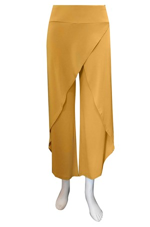 CLICK TO SEE COLOURS AVAILABLE - Soft knit skirt front pants