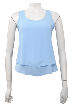 BLUE - Pollyanne double layer singlet