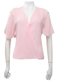 FLOSS - Robyn cross front blouse