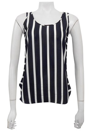 Jenny 2 way stripe singlet