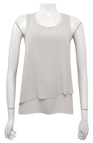 BEIGE - Elle double layer DG top
