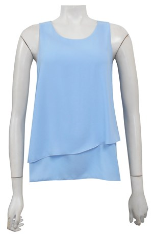 BLUE - Elle double layer DG top