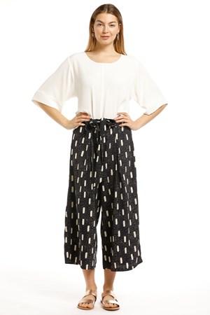 Dee Heavyweight Chiffon Pocket skirt Pants