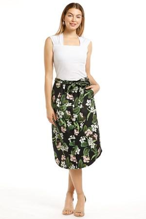 Paris Sateen Skirt