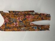 Rhianna Harem Soft Knit Pant MUSTARD FLOWER
