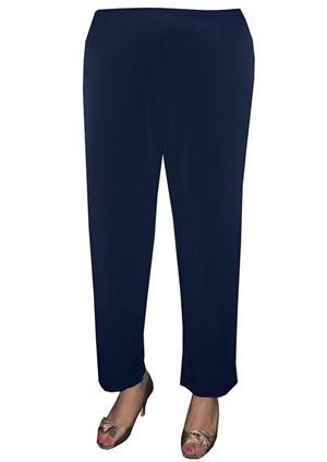NAVY - Diana soft knit  pant