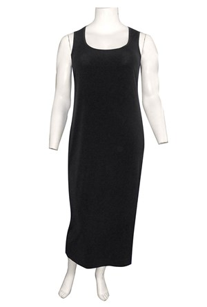 BLACK - Roxanne sleeveless maxi dress