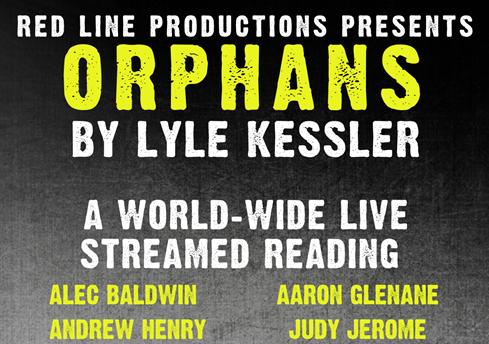 Theatre livestream of 'Orphans' with Pulse Aaron Glenane and Alec Baldwin